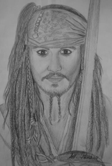 Johnny Depp por Ana-Maria
